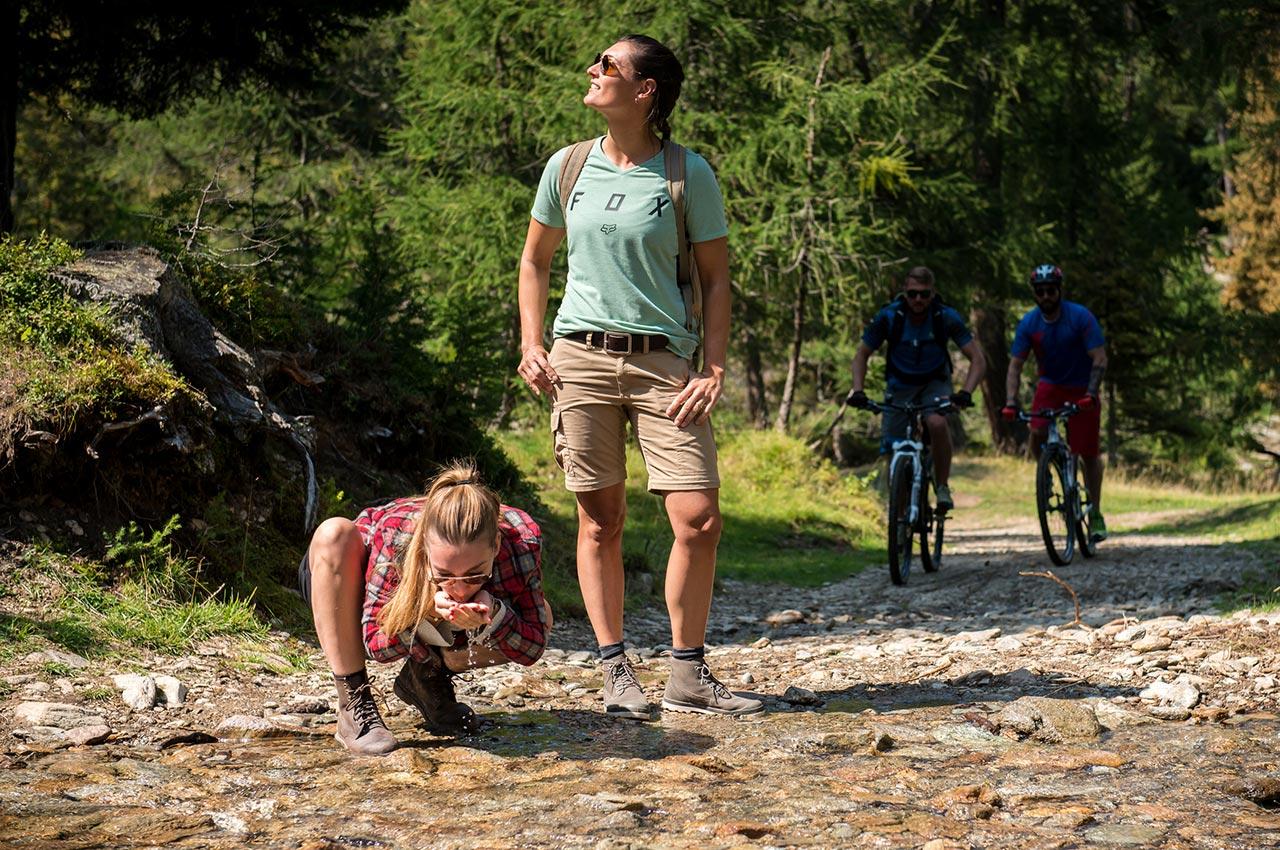 Tolle MTB-Radtouren im Hirzer Wandergebiet in Saltaus bei Meran