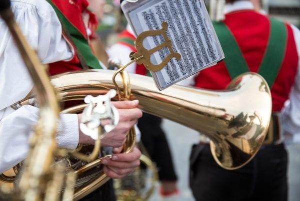 Musik und Tradition wird in Saltaus gelebt
